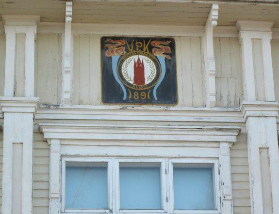 Het wapen van de vijwillige brandweer van Tornio