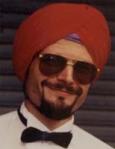Een echte Sikh tulband