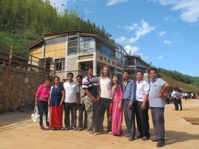 Vrienden uit het verre dorp Loilung, waar ik vroeger jarenlang heb doorgebracht.