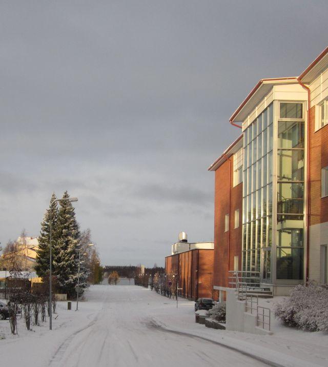 De weg naar de Zweedse grens een week later